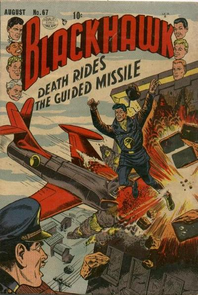 Cover for Blackhawk (Quality Comics, 1944 series) #67