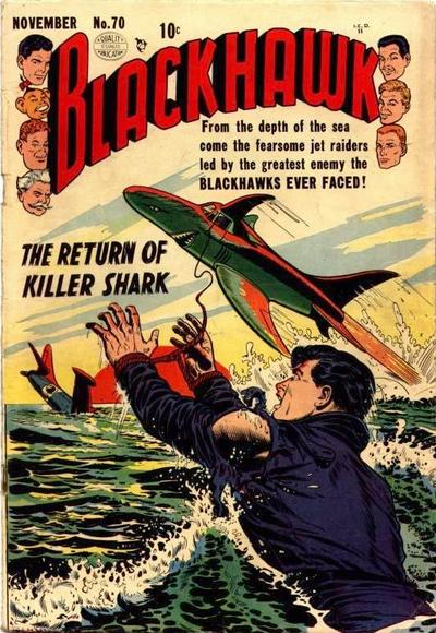Cover for Blackhawk (Quality Comics, 1944 series) #70