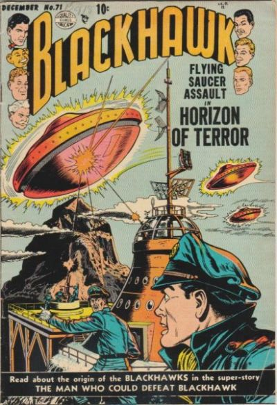 Cover for Blackhawk (Quality Comics, 1944 series) #71