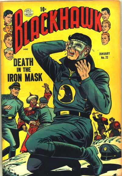 Cover for Blackhawk (Quality Comics, 1944 series) #72