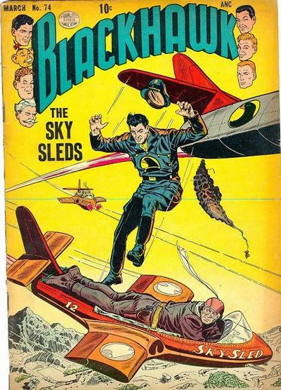 Cover for Blackhawk (Quality Comics, 1944 series) #74