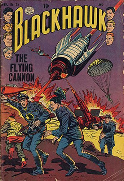 Cover for Blackhawk (Quality Comics, 1944 series) #75