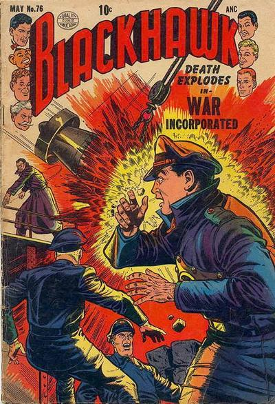 Cover for Blackhawk (Quality Comics, 1944 series) #76