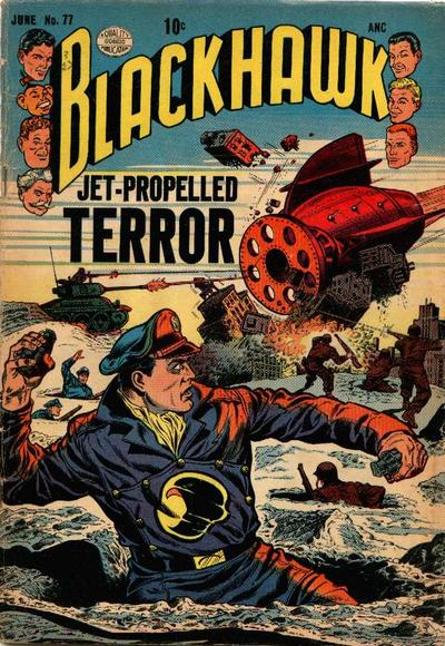 Cover for Blackhawk (Quality Comics, 1944 series) #77