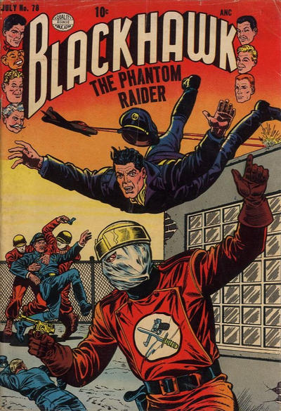 Cover for Blackhawk (Quality Comics, 1944 series) #78