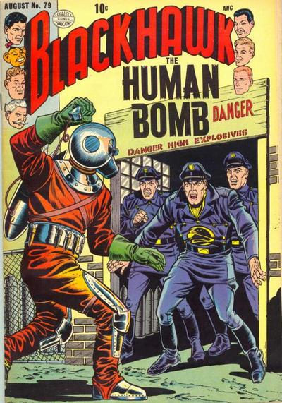 Cover for Blackhawk (Quality Comics, 1944 series) #79