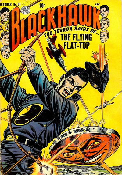 Cover for Blackhawk (Quality Comics, 1944 series) #81
