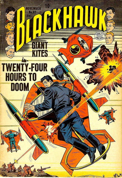 Cover for Blackhawk (Quality Comics, 1944 series) #82