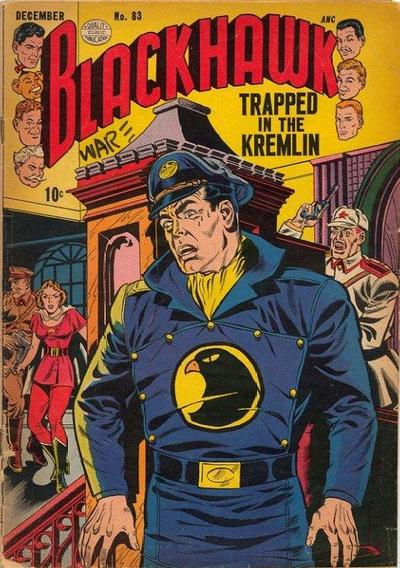 Cover for Blackhawk (Quality Comics, 1944 series) #83