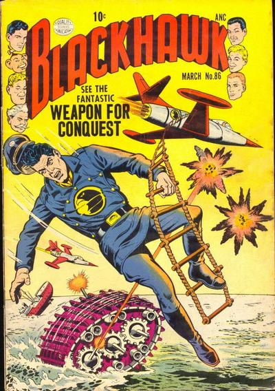 Cover for Blackhawk (Quality Comics, 1944 series) #86