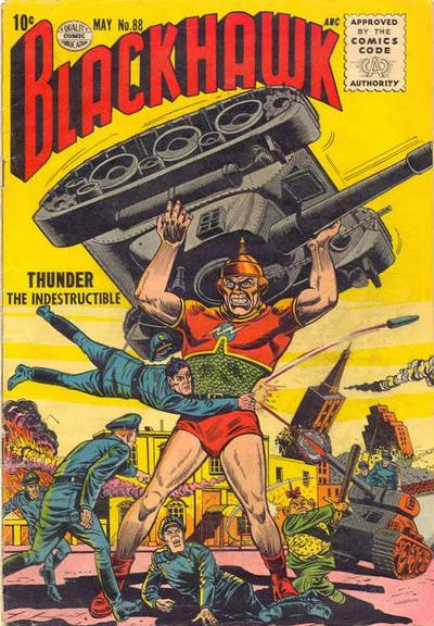 Cover for Blackhawk (Quality Comics, 1944 series) #88