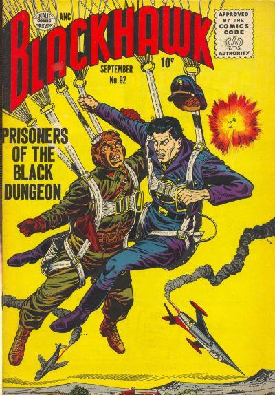 Cover for Blackhawk (Quality Comics, 1944 series) #92