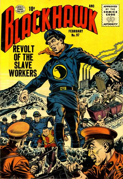 Cover for Blackhawk (Quality Comics, 1944 series) #97