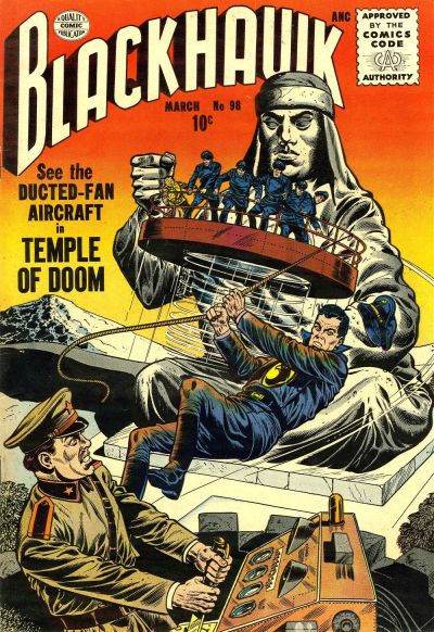 Cover for Blackhawk (Quality Comics, 1944 series) #98