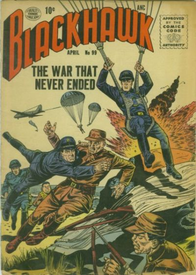 Cover for Blackhawk (Quality Comics, 1944 series) #99