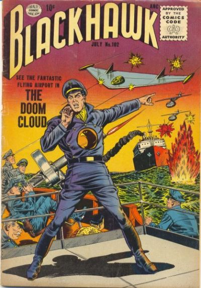 Cover for Blackhawk (Quality Comics, 1944 series) #102