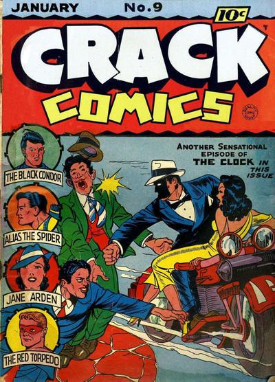 Cover for Crack Comics (Quality Comics, 1940 series) #9