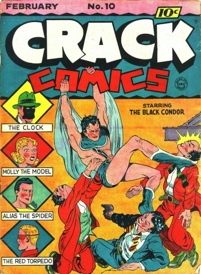 Cover for Crack Comics (Quality Comics, 1940 series) #10
