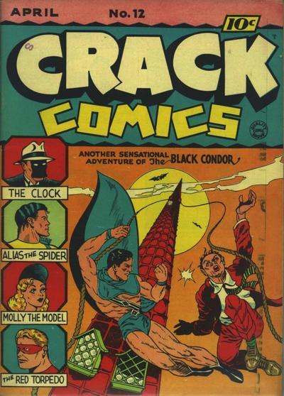 Cover for Crack Comics (Quality Comics, 1940 series) #12