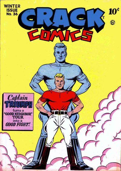 Cover for Crack Comics (Quality Comics, 1940 series) #36