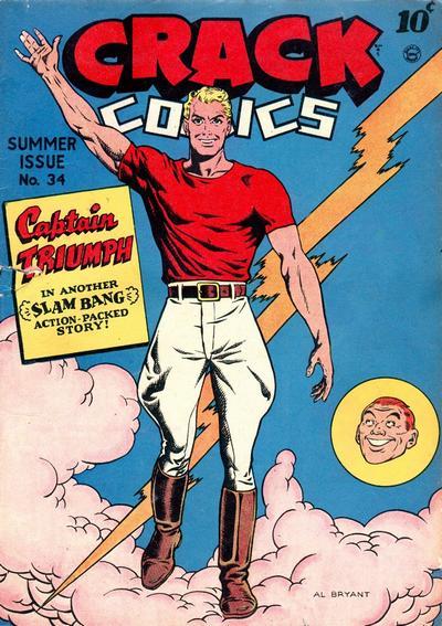 Cover for Crack Comics (Quality Comics, 1940 series) #34