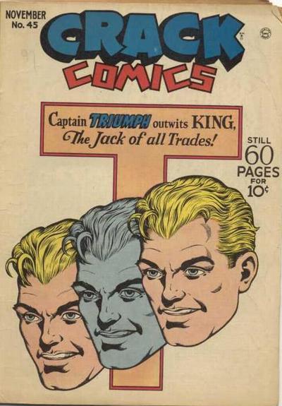 Cover for Crack Comics (Quality Comics, 1940 series) #45