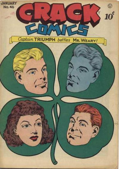 Cover for Crack Comics (Quality Comics, 1940 series) #46