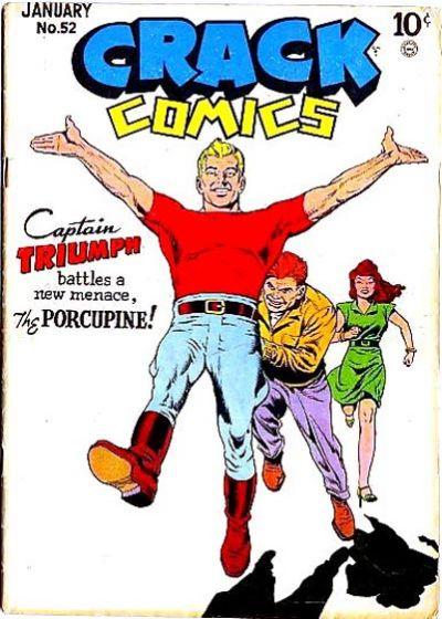 Cover for Crack Comics (Quality Comics, 1940 series) #52
