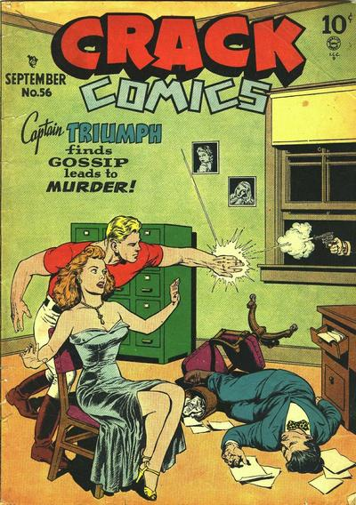 Cover for Crack Comics (Quality Comics, 1940 series) #56