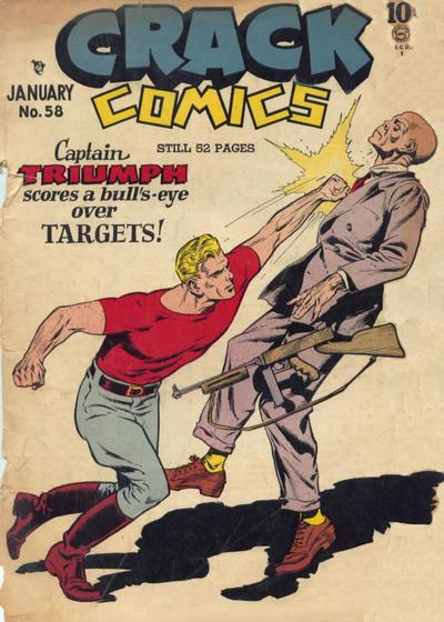 Cover for Crack Comics (Quality Comics, 1940 series) #58