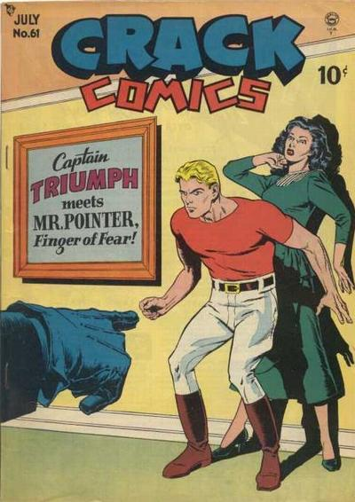 Cover for Crack Comics (Quality Comics, 1940 series) #61