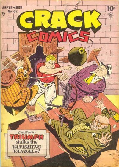 Cover for Crack Comics (Quality Comics, 1940 series) #62