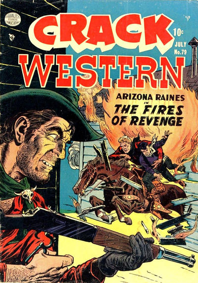 Cover for Crack Western (Quality Comics, 1949 series) #79