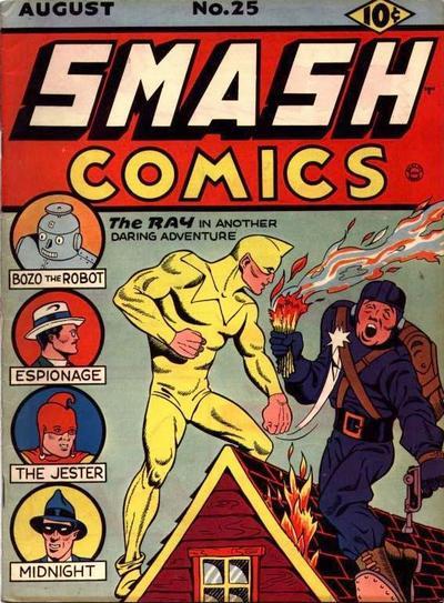 Cover for Smash Comics (Quality Comics, 1939 series) #25