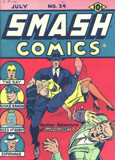 Cover for Smash Comics (Quality Comics, 1939 series) #34