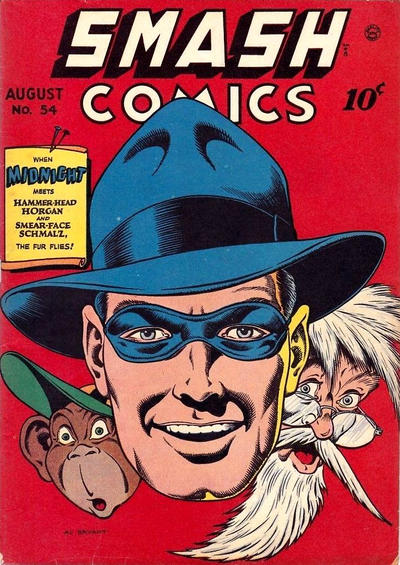 Cover for Smash Comics (Quality Comics, 1939 series) #54