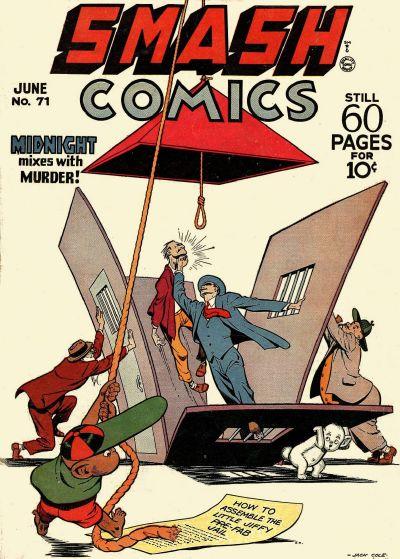Cover for Smash Comics (Quality Comics, 1939 series) #71