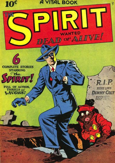 Cover for The Spirit (Quality Comics, 1944 series) #[1]