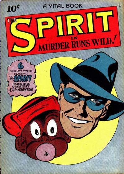 Cover for The Spirit (Quality Comics, 1944 series) #[3]