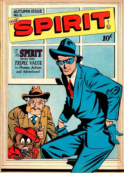 Cover for The Spirit (Quality Comics, 1944 series) #6