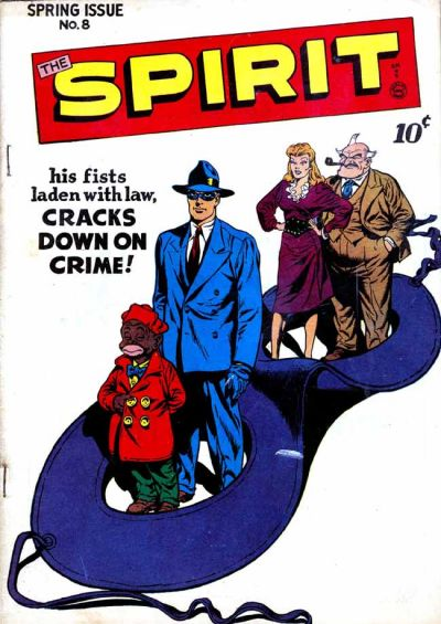 Cover for The Spirit (Quality Comics, 1944 series) #8