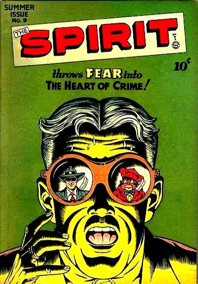 Cover for The Spirit (Quality Comics, 1944 series) #9