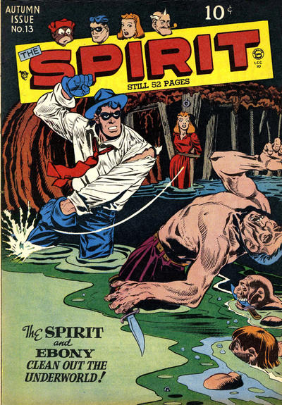Cover for The Spirit (Quality Comics, 1944 series) #13