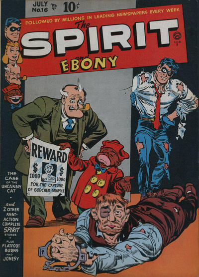 Cover for The Spirit (Quality Comics, 1944 series) #16
