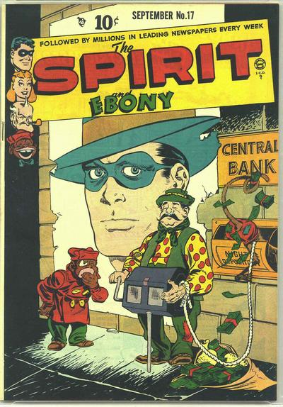 Cover for The Spirit (Quality Comics, 1944 series) #17