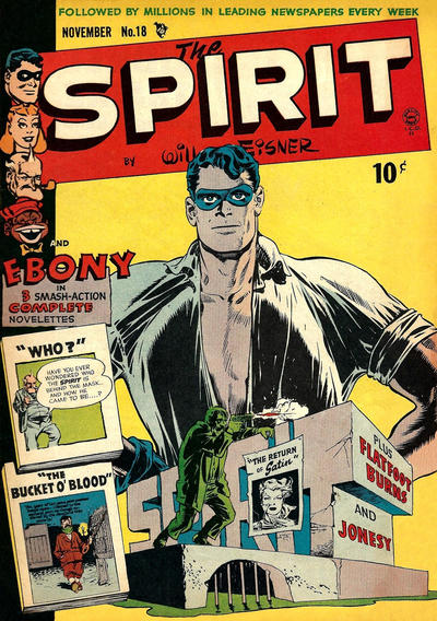 Cover for The Spirit (Quality Comics, 1944 series) #18