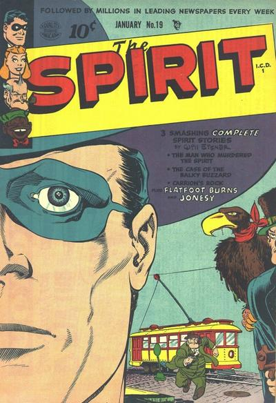 Cover for The Spirit (Quality Comics, 1944 series) #19