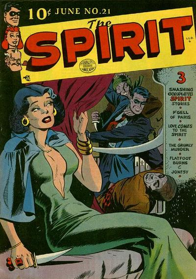 Cover for The Spirit (Quality Comics, 1944 series) #21