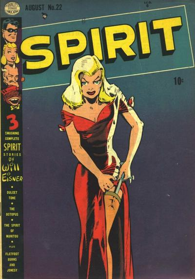 Cover for The Spirit (Quality Comics, 1944 series) #22