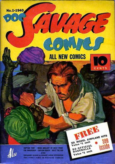 Cover for Doc Savage Comics (Street and Smith, 1940 series) #v1#1 (1)